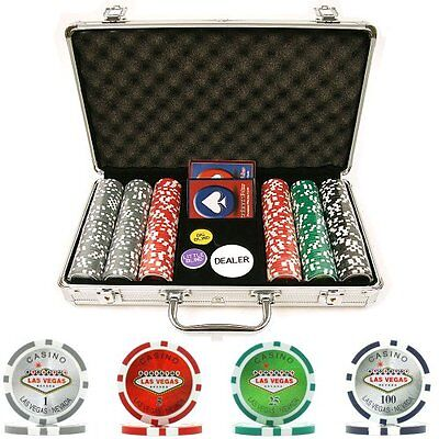 Trademark Poker 300 15-Gram Clay Welcome to Las Vegas Chip S