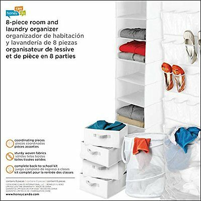 Honey-Can-Do BTS-01586 Apartment Storage, Dorm Organization Kit