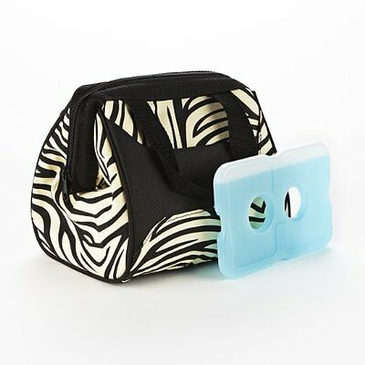 Fit & Fresh Ladies Downtown Insulated Lunch Bag with Ice Pac