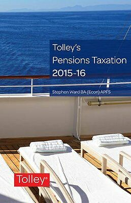 Tolley's Pensions Taxation 2015-2016 Copertina flessibile