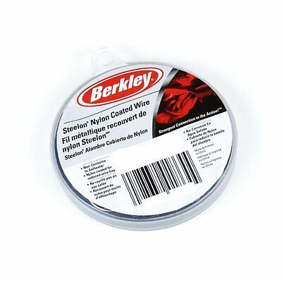 Berkley D80BL Steelon Nylon Coated Wire with 80-Pounds Line
