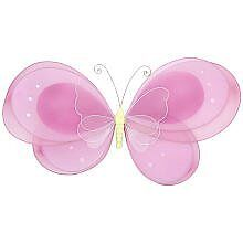 Little Boutique Large Butterfly Mesh Wall Hanging