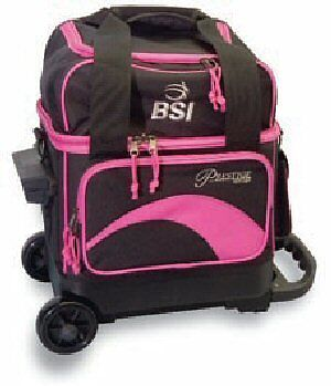 BSI Single Ball Roller Bag (Black/Pink)