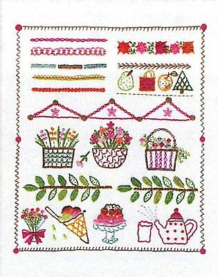 Orimupasu made £N France embroidery kit / stitch collection