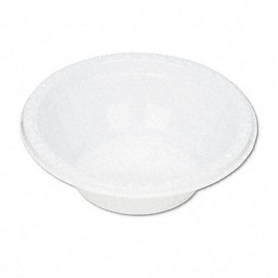 Tablemate : Plastic Dinnerware, Bowls, Five Ounces, White, 1
