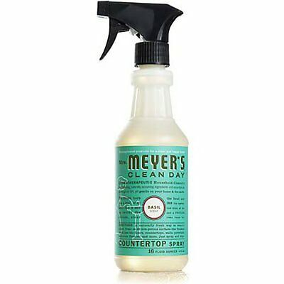 Mrs. Meyer's Clean Day Countertop Spray  Basil  16 oz