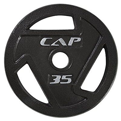 CAP Barbell 2-Inch Olympic Grip Plate, 35-Pounds