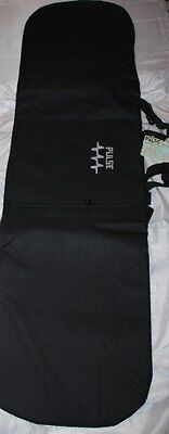 New Pulse Black Padded Snowboard Bag fits up to 160cm Board