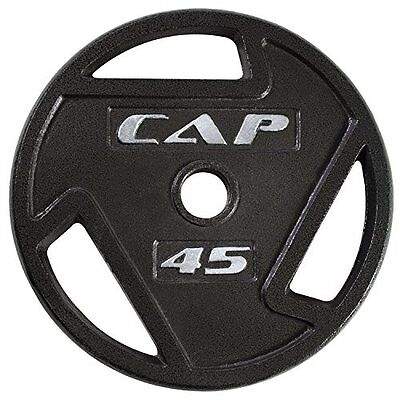 CAP Barbell 2-Inch Olympic Grip Plate, 45-Pounds