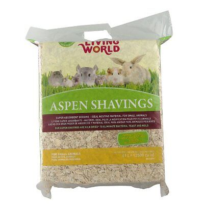 Living World Wood Aspen Shavings  2500-Cubic Inch