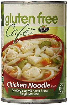 Gluten Free Cafe Chicken Noodle Soup  15 Ounce Cans (Pack of 12)