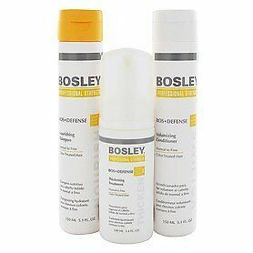 Bosley Defense Starter Pack for Normal/Fine and Color-Treated Hair 3pc