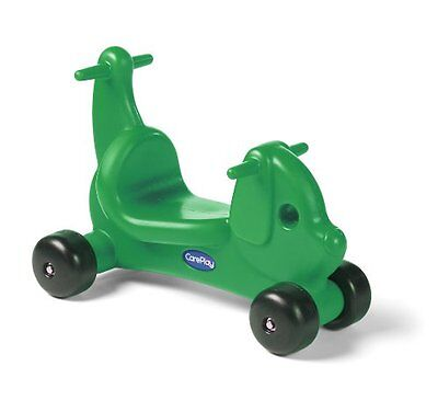 Careplay Ride-On Play Puppy Critter, Green