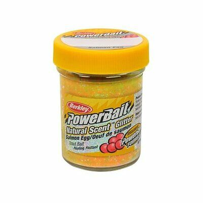 PowerBait FW Natural Salmon Egg Scent Glitter Trout Fishing