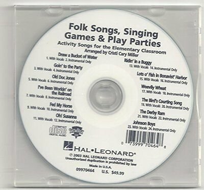 Folk Songs, Singing Games & Play Parties (Collection) CD