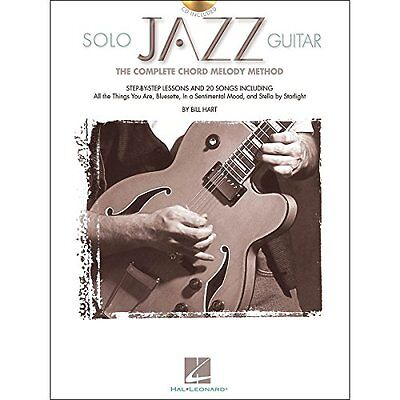 Solo Jazz Guitar - The Complete Chord Melody Method - Book and CD Package - TAB