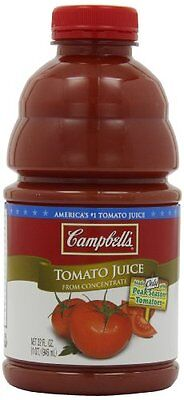 Campbell's Tomato Juice  32 Ounce Bottles (Pack of 8)