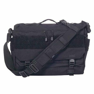 5.11 Tactical Rush Delivery LIMA EDC Messenger Bag, Black