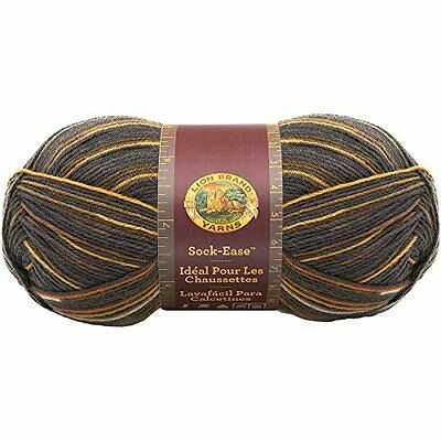 Lion Brand Yarn 240-200I Sock-Ease Yarn, Toffee