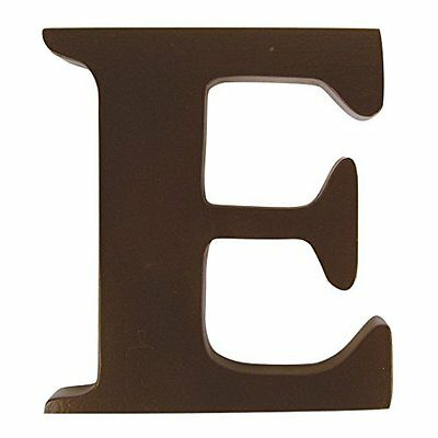 """Trend Lab Brown 6"""" Tall Letter, Letter E"""