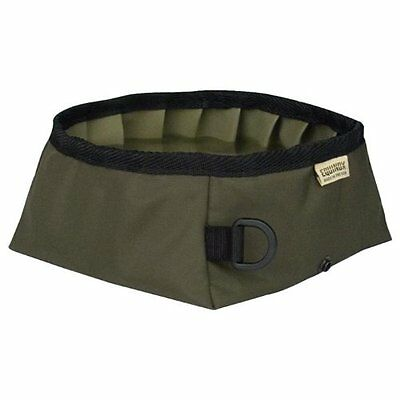 Equinox Buddy's Travel Bowl, Olive Green
