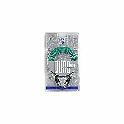 Blue Quad 20 Foot Microphone Cable