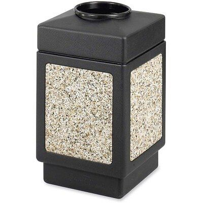 SAF9471 - Safco Open Top 38-Gallon Receptacle