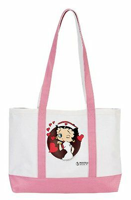 Prestige Medical 705-bhh Large Tote Bag Betty Boop Red Heart