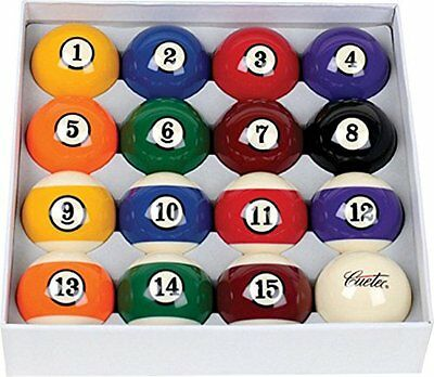Cuetec Deluxe 2 1/4-Inch Ball Set with Lifetime Warranty