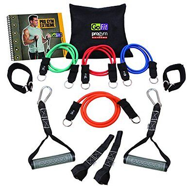 GoFit Extreme Pro Gym with 5 Smart Weight Power Tubes