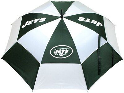 NFL New York Jets 62-Inch Double Canopy Umbrella