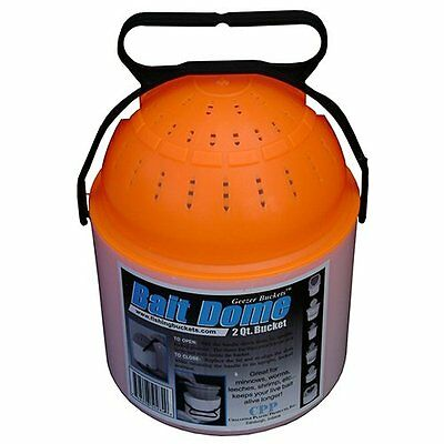 Challenge 50284 2 Quart Bait Dome, White/orange