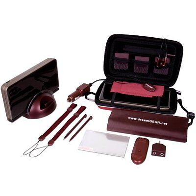 Nintendo DSi XL 20 in 1 Starter Kit - Burgundy