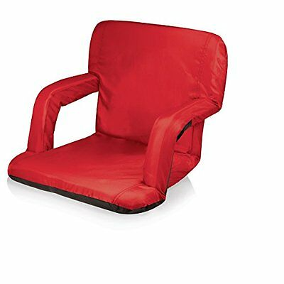 Picnic Time Portable Ventura Reclining Seat (Red)