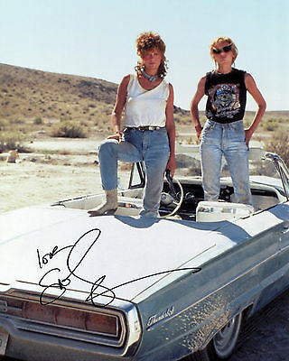 Susan Sarandon - Louise Sawyer - Thelma & Louise - Signed Autograph REPRINT