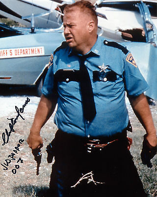 Clifton James - Sheriff J.W. Pepper - Live and Let Die -Signed Autograph REPRINT