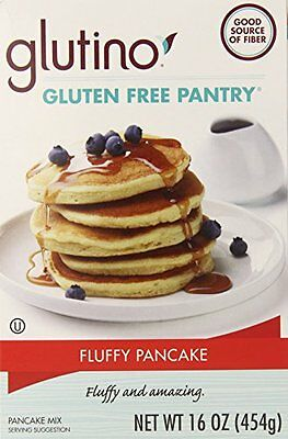 Glutino Gluten Free Pantry Fluffy Pancake Mix, 16 Ounce