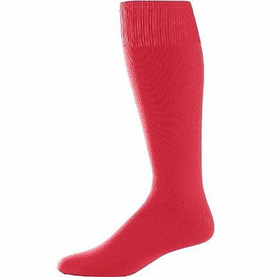 Augusta Sportswear Youth Game Socks Red One Size