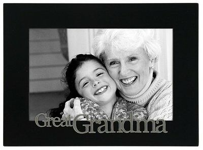 Malden Great Grandma Expressions Frame  4 by 6-Inch