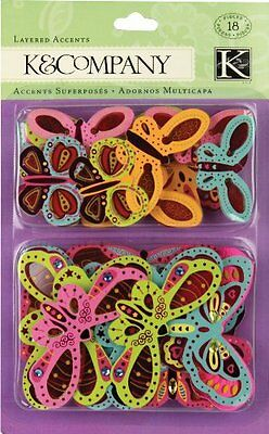 K&Company Butterfly Layered Accents