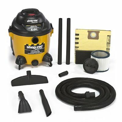 Shop-Vac 9625810 5.0-Peak Horsepower Right Stuff Drywall Vac Wet/Dry Vacuum