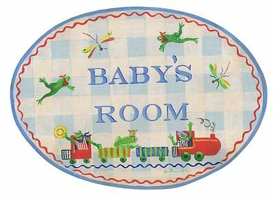 The Kids Room by Stupell Baby's Room with Frogs on a Train O