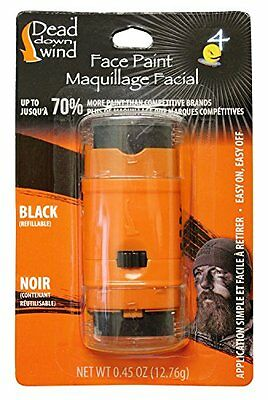 Dead Down Wind 1256BC Face Paint System, Black