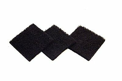 Exaco Trading ECO 2500 Pack of Three Replacement Carbon Filters For Kitchen