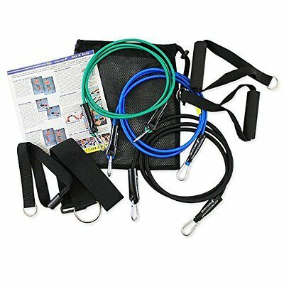 SportCord Resistance Bands - 7 Piece Bungee-Type Fitness Sys