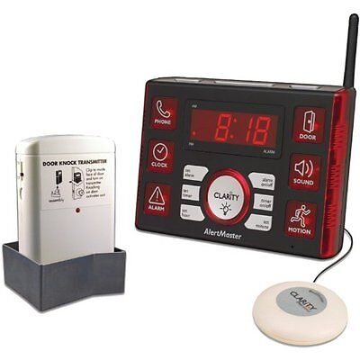 Clarity 52510.1 Home Notification System with Door Knocker a