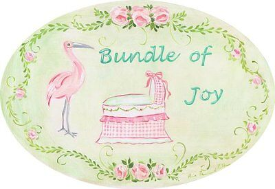 The Kids Room by Stupell Bundle of Joy with Pink Bassinet an