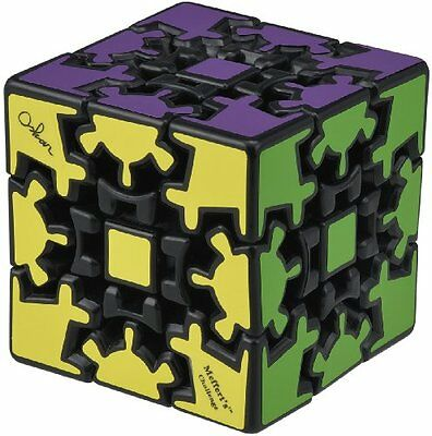Takara Tomy 3D Gear Cube Puzzle Black Designed by Uwe Meffert