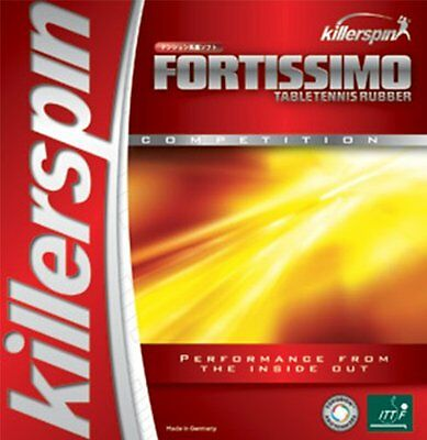 Fortissimo Blast Red Max Table Tennis Rubber