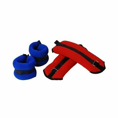 Valor Fitness EH-36 Ankle Wrist Weights Set, 2-3-Pound